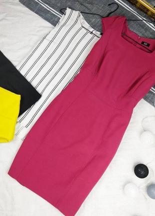 Платье футляр чехол по фигуре из костюмной ткани f&f
