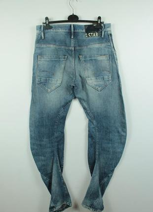 Крутые оригинальные джинсы g-star raw arc loose tapered