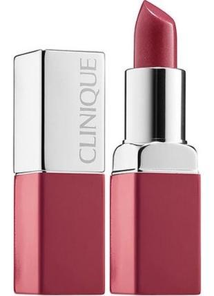 Миниатюра помады clinique pop lip colour primer love pop 2,3 гр.