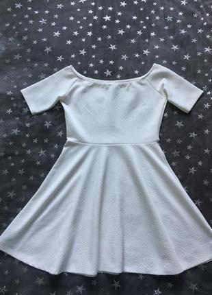 Платье солнце открытие плечи bershka