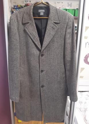 Пальто из шерсти castro