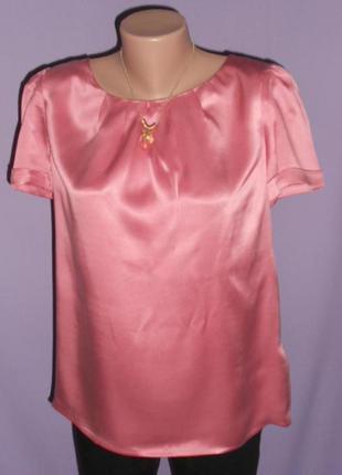 Красивая шелковая блузочка