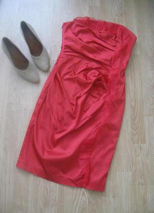 Платье-бюстье стильное брендовое