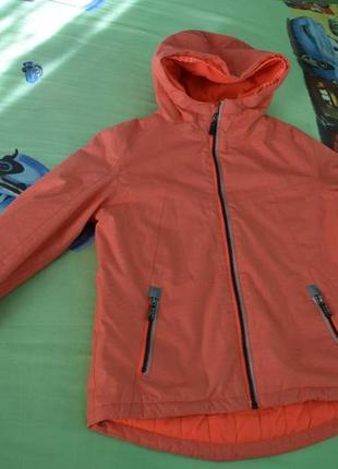 Зимняя куртка мембранная лыжная рост 146 10-12 лет  raintex