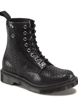 Кожаные ботинки dr.martens, оригинал, р-р 35-36, ст 23 см
