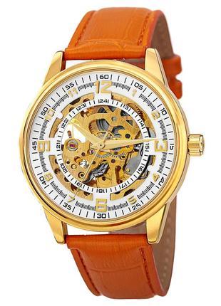 Akribos xxiv мужские часы скелетон автоподзавод wr10m