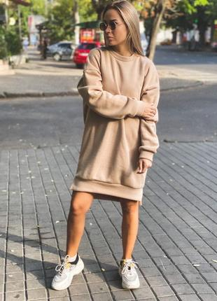 Платье худи женский