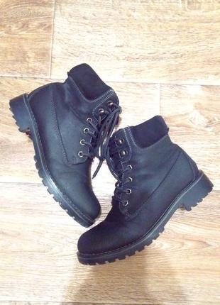Черевички утеплені ботинки утеплённые