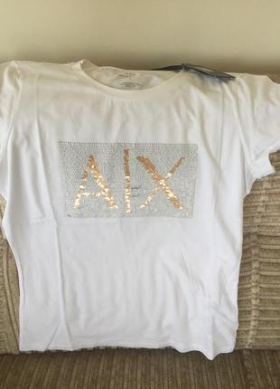 Armani exchange футболка женская, розмір l