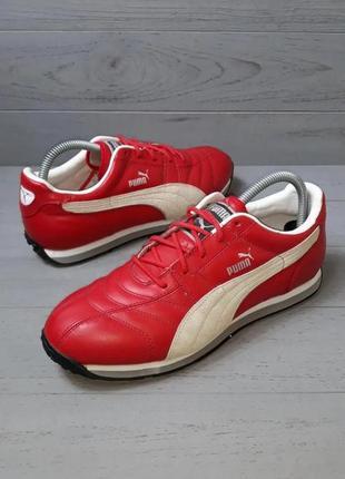 Класні шкіряні кросівки від puma!