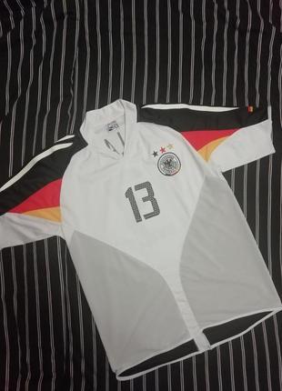 Ретро футболка сборная германии 2004г