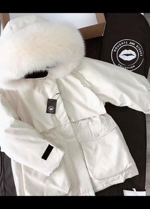 Дуже крутка куртка-парка