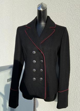 Піджак двобортний  шерсть англійського бренду