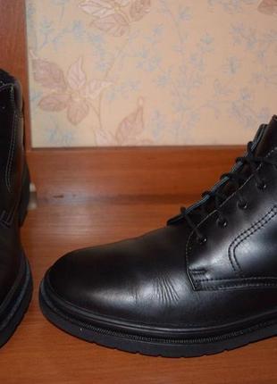 Очень тёплые ,кожаные ботинки salamander (австирия)