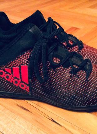 Сороконожки adidas (оригинал) розмір 34 (21 см) футзалки,бампи,бутси