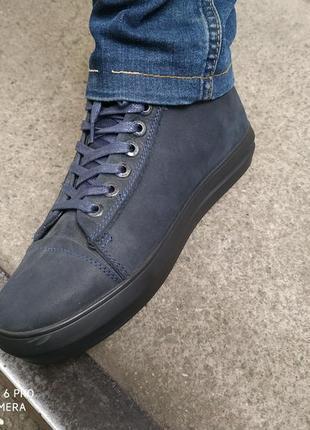 Ботинки кожаные на байке + подарок!!!