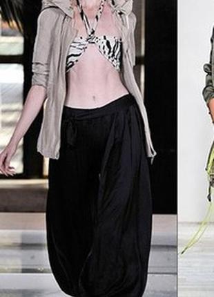Брюки штаны шаровары на резинке medium