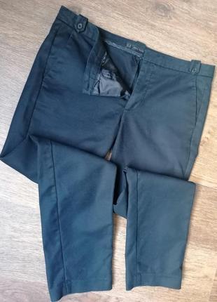Брюки zara (повседневные, классические штаны)
