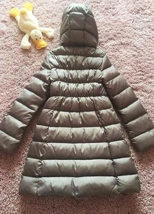 Красивенное зимнее пальто куртка пуховик benetton