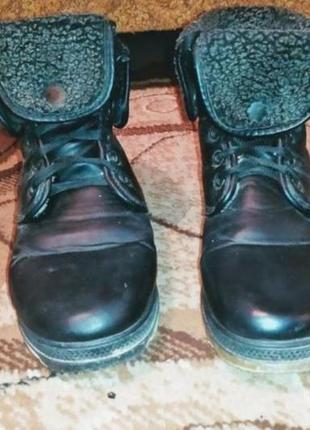 Сапоги эко кожа чёрные распродажа