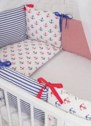 Бортики защита комплекты в кроватку
