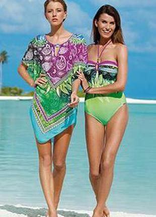 Красивый яркий брендовый купальник sunflair 48 размер, отличное качество