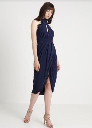 Платье миди с биркой tfnc tfnc london