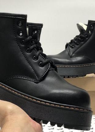 Зимние ботинки dr.martens