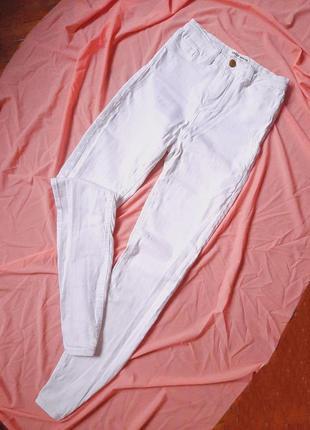 Білі скінні джинси tally weijl 🤍
