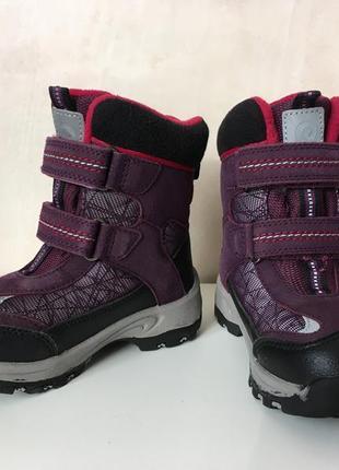 Зимние ботинки reima сапоги