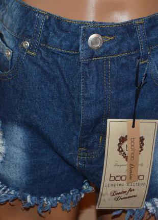 Фирменные новые женские шорты boohoo