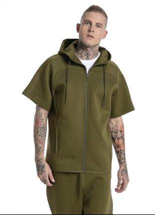 Супер крутая мужская кофта безрукавка puma размер xl