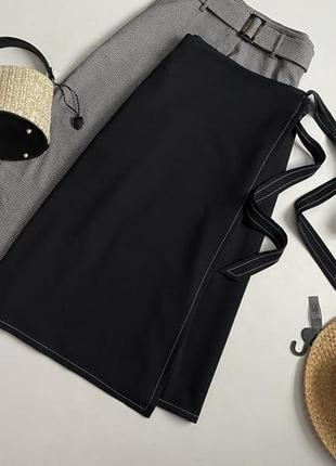 Роскошная юбка миди на запах marks & spencer