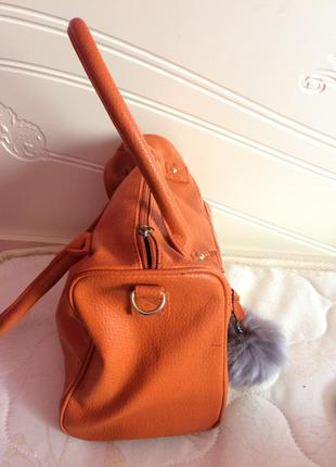 Хит моды оранжевая сумка2 фото