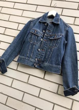 Винтаж, джинсовый жакет пиджак,куртка,блейзер,люкс бренд,dkny
