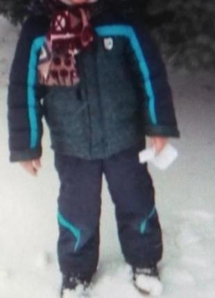 Зимний комплект полукомбинезон куртка зима