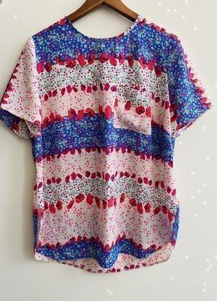 Блуза -футболка george p.12/40#1428 новое поступление 1+1=3🎁