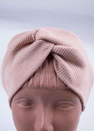 Повязка на голову, широкая повязка чалма