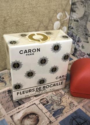 Духи винтажные caron fleurs de rocaille, 15 мл, слюда