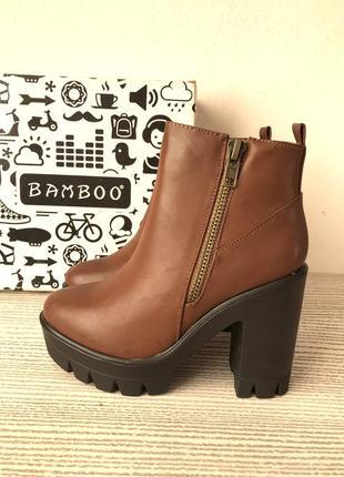 Женские ботинки bamboo