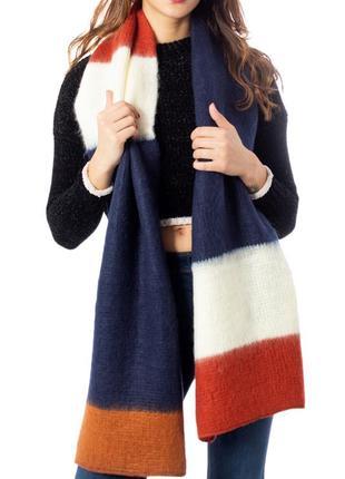 Теплый вязаный шарф only