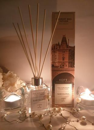 Аромадиффузор парфюм ароматизатор для дома комнаты квартиры офиса с деревянными палочка