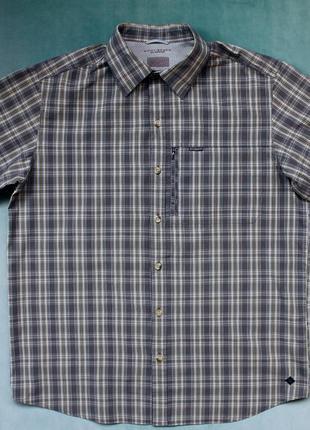 Columbia® omni-shade рубашка трекинговая с вентиляцией mammut the north face