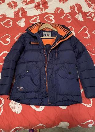 Натуральна пухова куртка