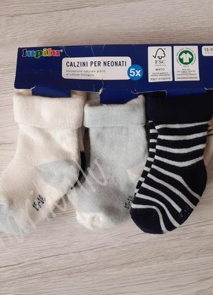 Носки носочки махровые 15-18 3-12  месяцев
