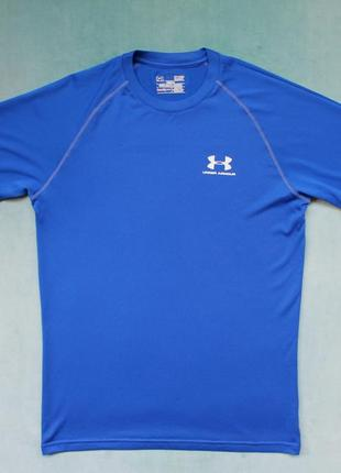Under armour® heatgear футболка для бега зала спортивная