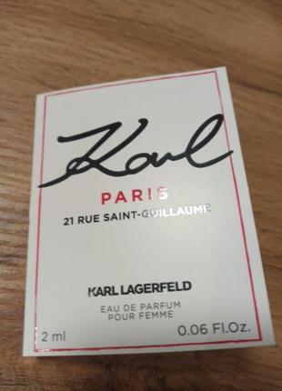 Karl lagerfeld paris парфюмерная вода