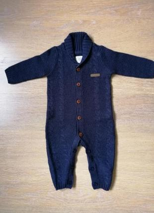 Комбінізон вязанний для малюка