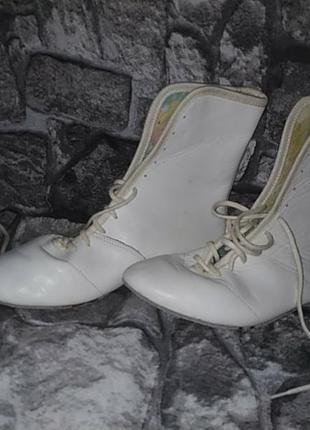 Мягкие тренировочные ботиночки джазовки борцовки iwa танцы гимнастика