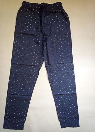 Штаны для дома и отдыха пижамные брюки р.с